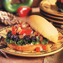 Fiesta Burgers Recipe