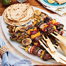 Grilled Beef Skewers with Moroccan Spices Recipe
