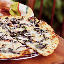 Pizza Rustica with Wild Nettles Recipe