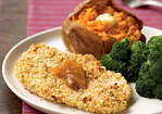 Peanutty Baked Chicken Cutlets Recipe