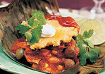 Giant Chicken Tamale Pie Recipe
