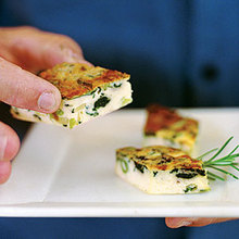 Spinach and Leek Frittata Recipe