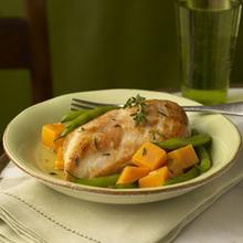 Golden Chicken & Autumn Vegetables Recipe