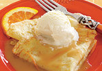 Orange-Caramel Crepes Recipe