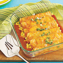 Corn and Cheese Enchiladas Recipe