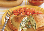 Broccoli and Double Cheese Calzones Recipe