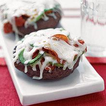 Pepperoni Portobello Pizzas Recipe
