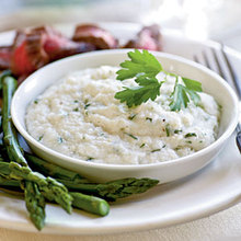 Goat Cheese Grits Recipe