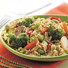 Spicy Vegetable Fried Rice Recipe