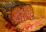Mom's Pan-fried London Broil Steak Recipe