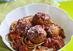 Skinny Meatballs With Sauce Recipe