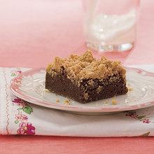Peanut Butter Streusel Brownies Recipe
