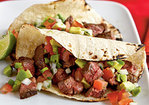 Carne Asada Taco with Avocado Pico de Gallo Recipe