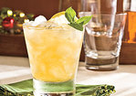 Peach-Bourbon Sours Recipe