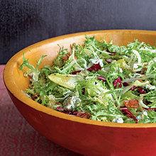 Frisée Salad with Maple-Bacon Vinaigrette Recipe