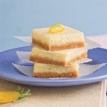 Lemon-Cheesecake Bars Recipe