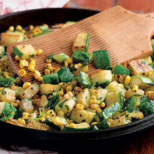 Zucchini-And-Corn Sauté Recipe