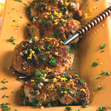 Chicken Thighs Piccata-Style Recipe