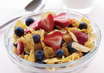 Cornflakes, Low-Fat Milk & Berries Recipe
