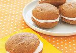 Gingersnap Whoopie Pies Recipe