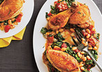 Tuscan Baked Chicken and Beans Recipe