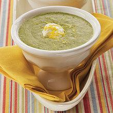 Zesty Spinach Soup Recipe