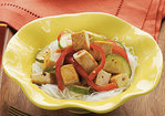 Sautéed Vegetables and Spicy Tofu Recipe
