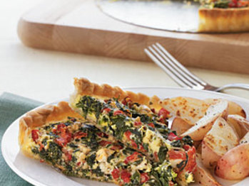 Spinach-roasted-red-pepper-tart-oh-l