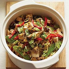 Turkey Noodle Stir-Fry Recipe
