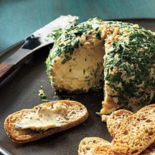 Date, Walnut, and Blue Cheese Ball Recipe