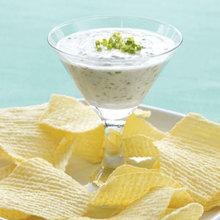 Garlic and Herb Yogurt Dip Recipe