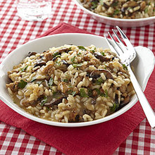 Baked Sausage and Mushroom Risotto Recipe
