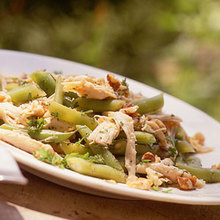 Chicken Salad with Green Beans and Toasted Walnuts Recipe