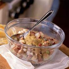 Dijon-Potato Salad with Smoked Chicken Sausage Recipe