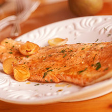 Maple-Glazed Roasted Salmon Recipe