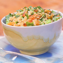 Quinoa Salad with Apricots and Pistachios Recipe