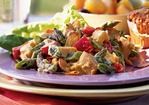 Chicken Salad with Asparagus and Toasted Almonds Recipe