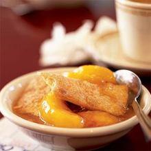 Peach Cobbler with a Cinnamon Crust Recipe