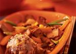 Lion's Head Meatballs in Spicy Coconut Sauce Recipe