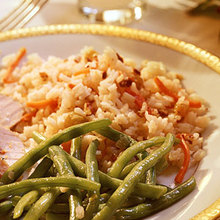 Rice Pilaf with Pecans Recipe