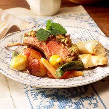 Mint-Crusted Lamb Recipe