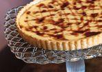 Crostada di Ricotta with Cherry Syrup Recipe