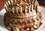 Crown Roast of Pork with Apple, Cranberry and Pecan Stuffing Recipe