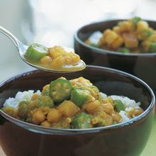 Curried Chickpea and Potato Stew Recipe