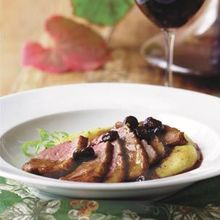 Duck Breasts with Port Finishing Sauce Recipe