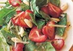 Baby Spinach Salad with Roasted Strawberries Recipe