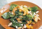 Warm Spinach Salad with Delicata Squash and Ricotta Salata Recipe