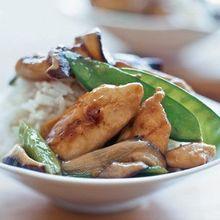 Ginger Chicken & Vegetables Recipe
