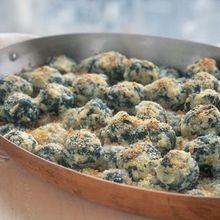 Gratinéed Ricotta and Spinach Gnocchi Recipe