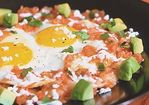 Huevos Rancheros with Roasted Tomato Sauce Recipe